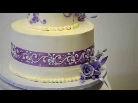 wedding cake lavender and white lavender amp silver dreams lavender wedding cake wedding 23063