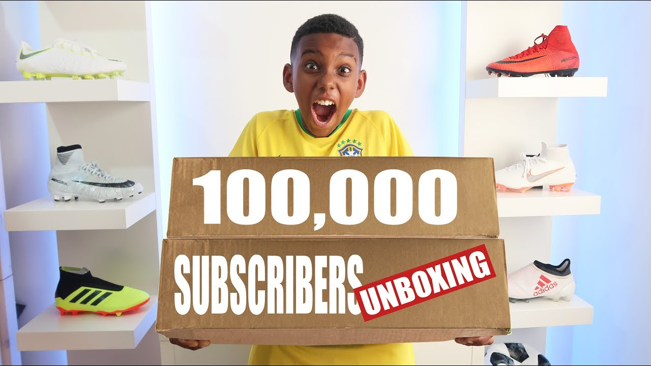 50c08b14 DOUBLE UNBOXING + GIVEAWAYS CELEBRATING 100,000 SUBSCRIBERS - YouTube