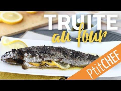 Recette De Truite Au Four, Au Thym, Citron Et Huile D'olive - Ptitchef.com