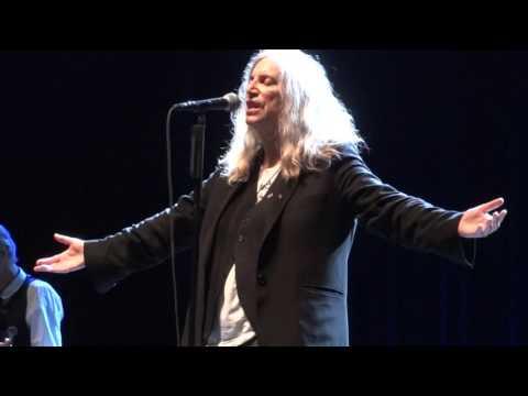 Patti SmithLand Horses+Gloria @ Olympia21102015