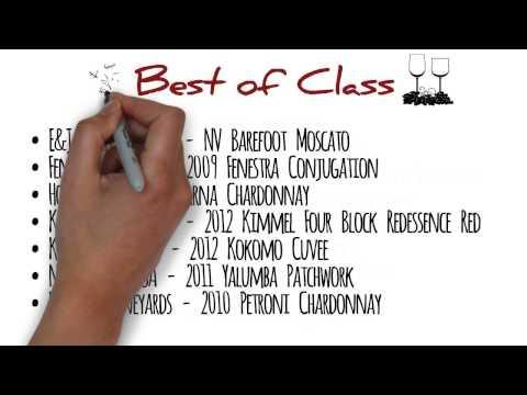2013 International Wine Channel TV Award Winning Wines