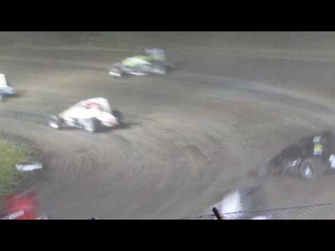 Gas City I-69 Speedway Sprint Cars 6/01/2016