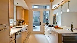 видео Дизайн узкой кухни