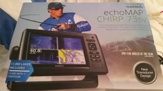 Updating Garmin EchoMap Chirp 73sv