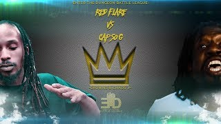 ETD | RAP BATTLE | RED FLARE VS CAP SO G