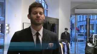 Kasper er butikschef i Tiger of Sweden - Hovedforløbet på Niels Brock