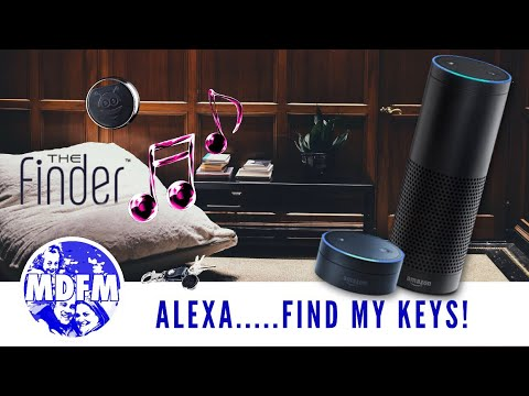 """HOW TO FIND your """"KEYS"""" with ALEXA – featuring PebbleBee Finder"""