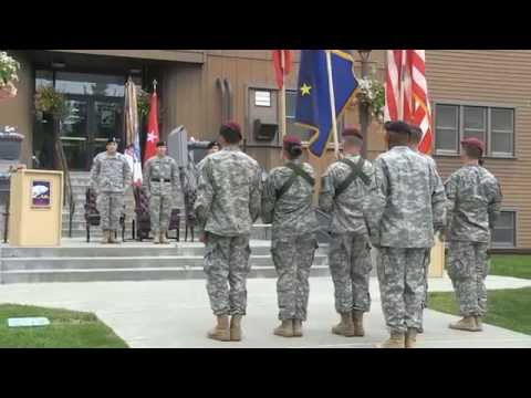 2015 Alaska District Change of Command Ceremony