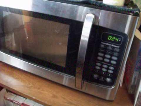 hamilton beach microwave youtube