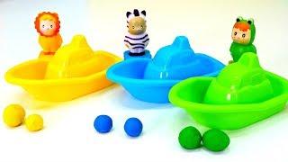 Развивающее видео: Учим цвета с игрушками! Мультики для малышей