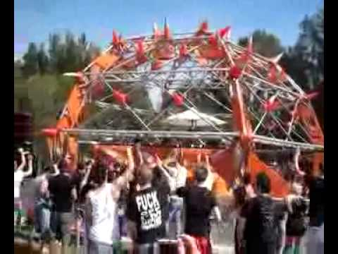 Amber Savage & Andy Brownscombe - System Black (live) Defqon1 Sydney Australia