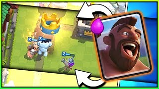 2.9 ELIXIR NEW HOG TRIFECTA!! Fast Cycle F2P Hog Deck - Legendary Arena 10 Deck in Clash Royale