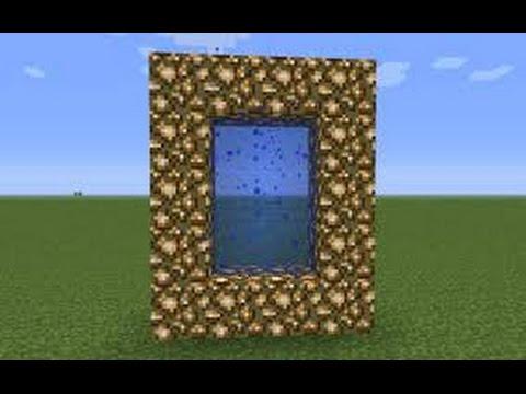 Как Сделать портал в РАЙ в МайнкрафтPE 0.14.3!(БЕЗ МОДОВ)