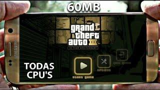 [60MB] GTA 3 LITE ANDROID OFFLINE APK+DATA (FUNCIONANDO!!) TODAS AS CPU'S