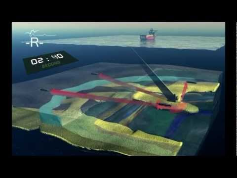 Seabed Geophysical Seismic animation