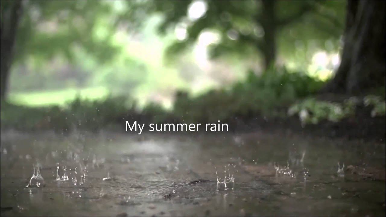 Summer Rain Lyrics-Sia