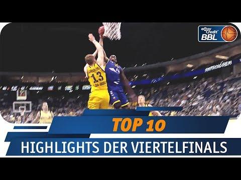 Pauldings Dunk des Jahres?! | Telekom Sport Top 10 | easyCredit Basketball Bundesliga