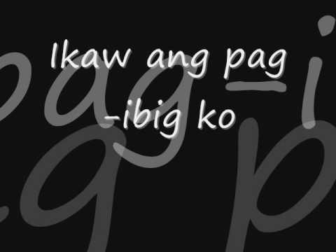 Ikaw Ang Pag-ibig Ko LYRICS - ABHSAT