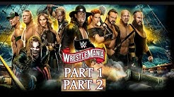 WWE WRESTLEMANIA 36 HIGHLIGHTS||PART 1 AND 2||CARIM REIGNS