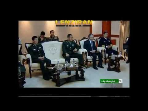 High ranking Chinese military negotiate new military ties in  Tehran