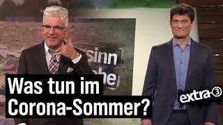 Corona: Was wird das für ein Sommer?