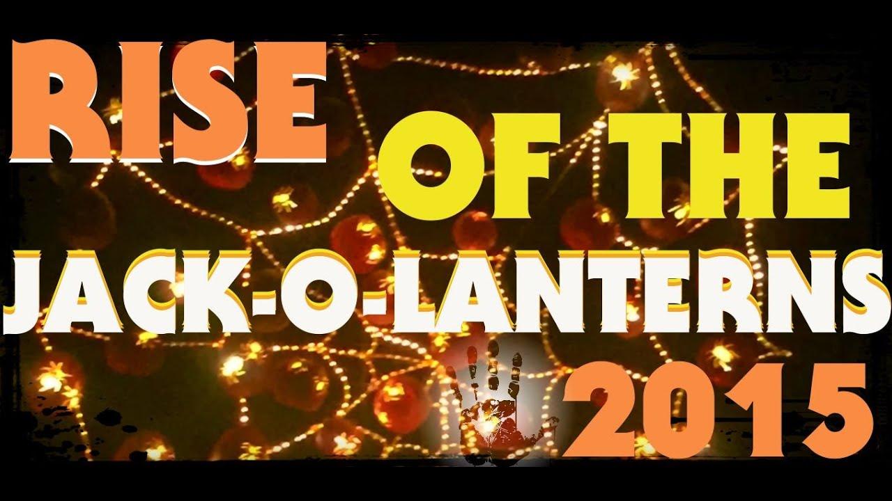 Rise Of The Jack-O-Lanterns Descanso Gardens, CA 2015 Halloween ...