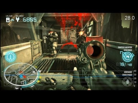 Killzone Mercenary PS Vita Preview Frame-Rate Tests