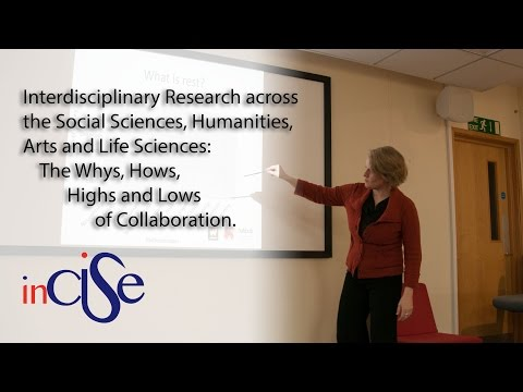 Interdisciplinary Research across the Social Sciences, Humanities, Arts and Life Sciences