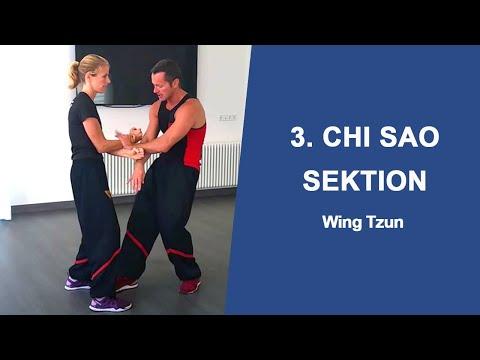 Wing Tsun 3. Chi-Sao Sektion mit Sifu Sergej und Sije Eva