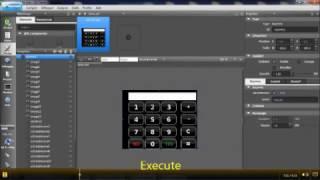 STM32 GUI Builder - Calculator