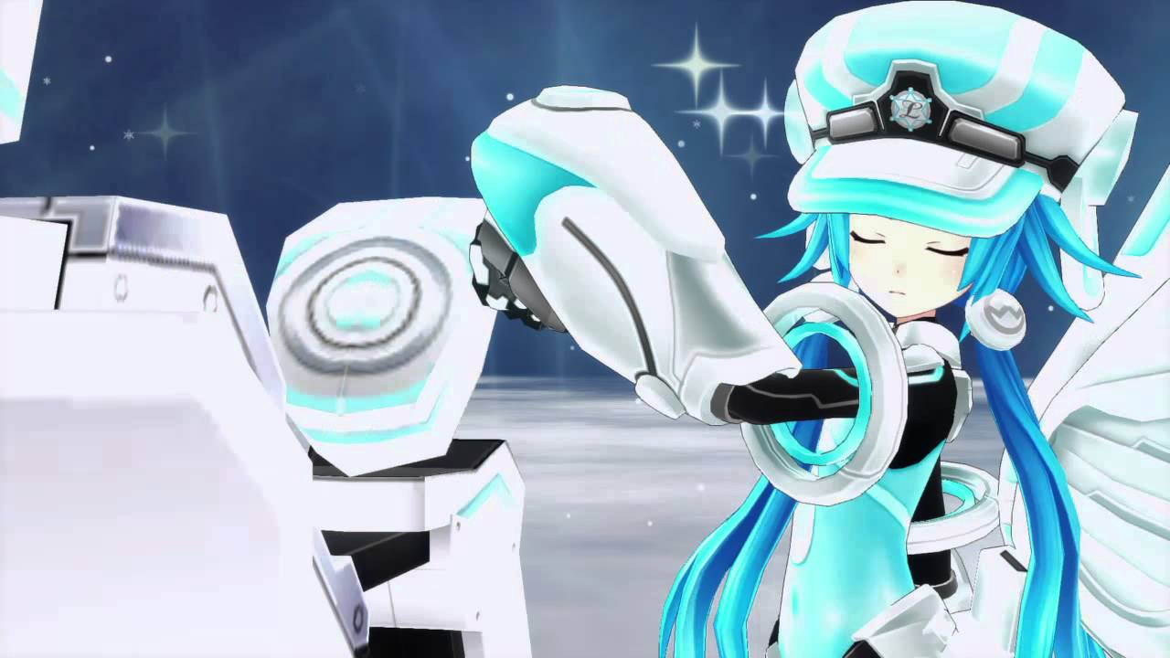 Megadimension Neptunia VII Blanc Next form move - YouTube