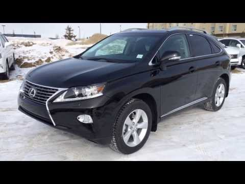 2014 Lexus RX 350 AWD in Black - Premium Package Review