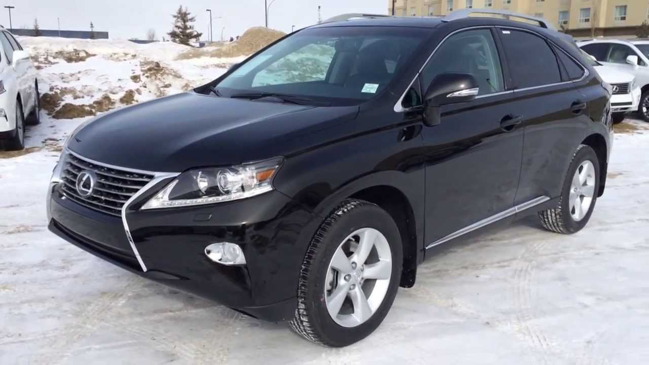 2014 lexus rx 350 awd in black premium package review youtube. Black Bedroom Furniture Sets. Home Design Ideas
