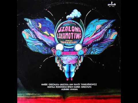 """Marek Grechuta - album """"Szalona lokomotywa"""" LP rok 1977"""