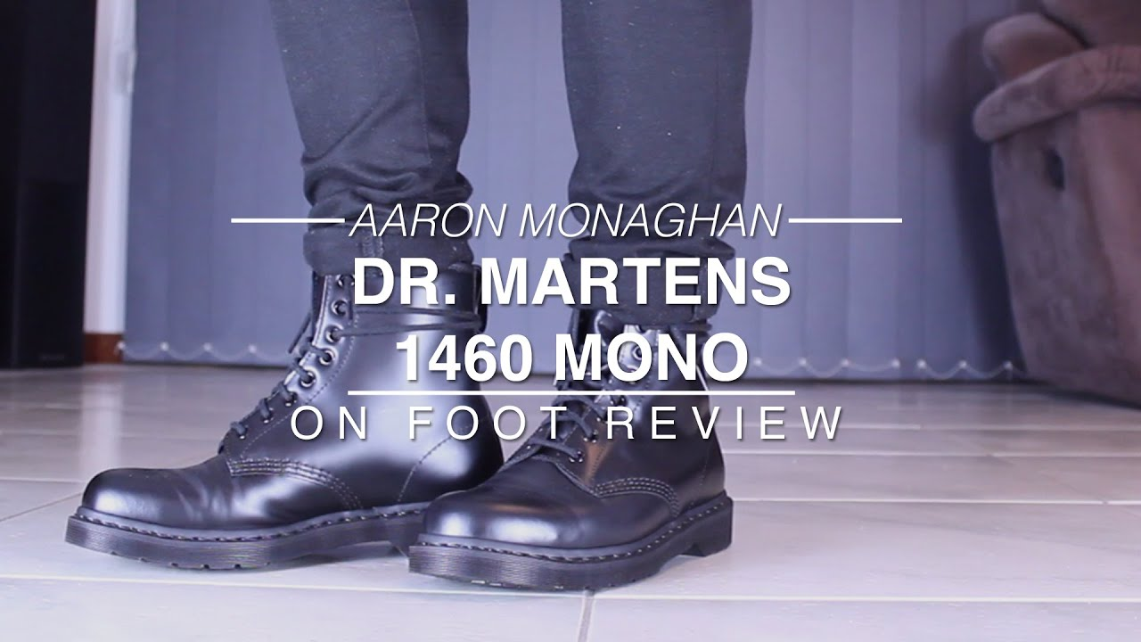 beste Turnschuhe modisches und attraktives Paket elegant im Stil Dr. Martens 1460 Mono Review & On Foot
