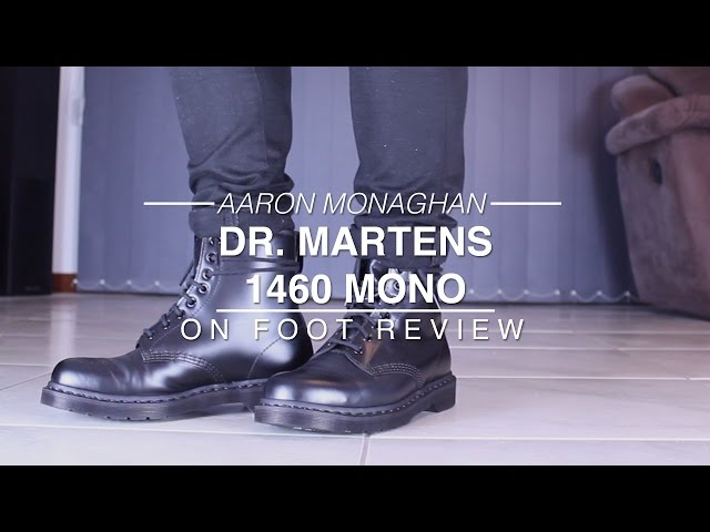 Dr. Martens 1460 Mono Review & On Foot