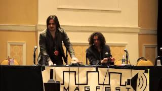 Repeat youtube video MAGfest 12 (2014): Game Grumps Panel