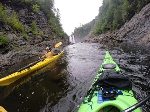 PART 3 of 3 - 4 Day Agawa Canyon River Kayak Portage Fully Narrated GOPRO by Green Blue Earth