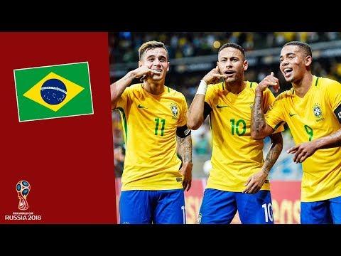 Đội hình ĐT Brazil tham dự World Cup 2018