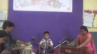 Pareen Indian Classical Singing Competition Dec 2013