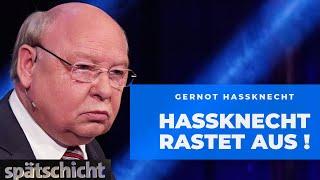 "Gernot Hassknecht: ""Demokratie abschaffen? Arschlecken!"""