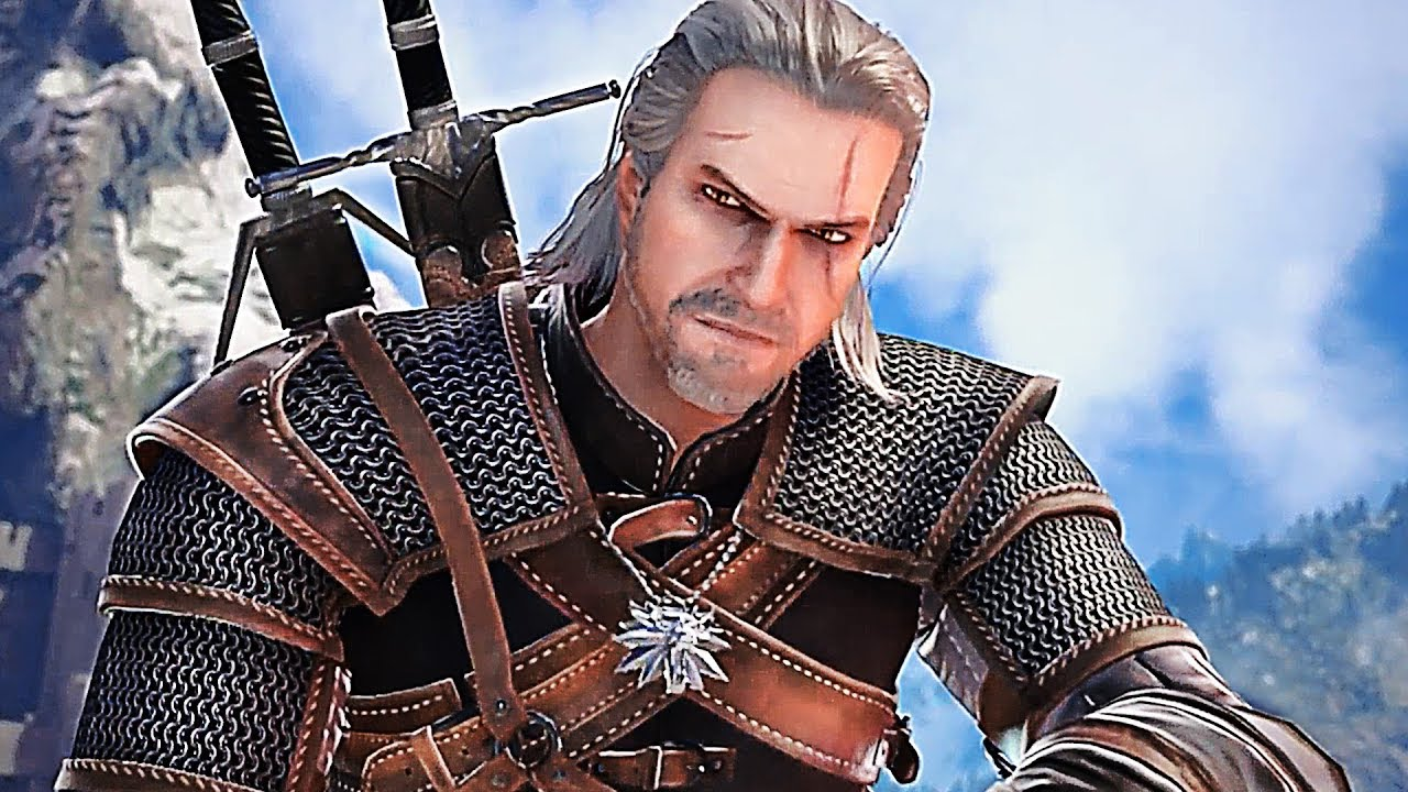 Download SOUL CALIBUR 6 Geralt THE WITCHER Gameplay Trailer (2018) PS4 / Xbox One / PC