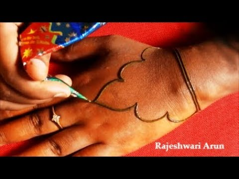 Easy Latest Mehndi Designs For Back Hands * Simple Beautiful Mehndi Designs * New Henna 2018