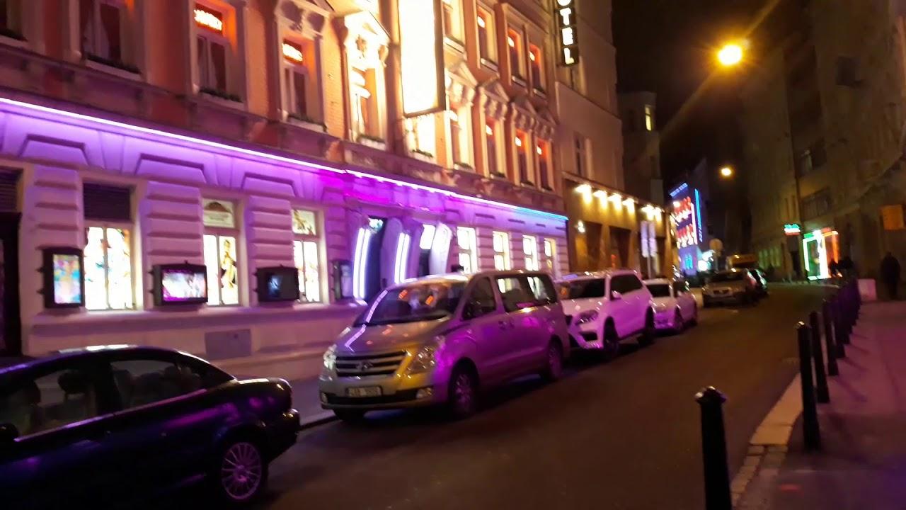 Prague Nightlife Night Walking Tour in Prague Czech Republic - YouTube