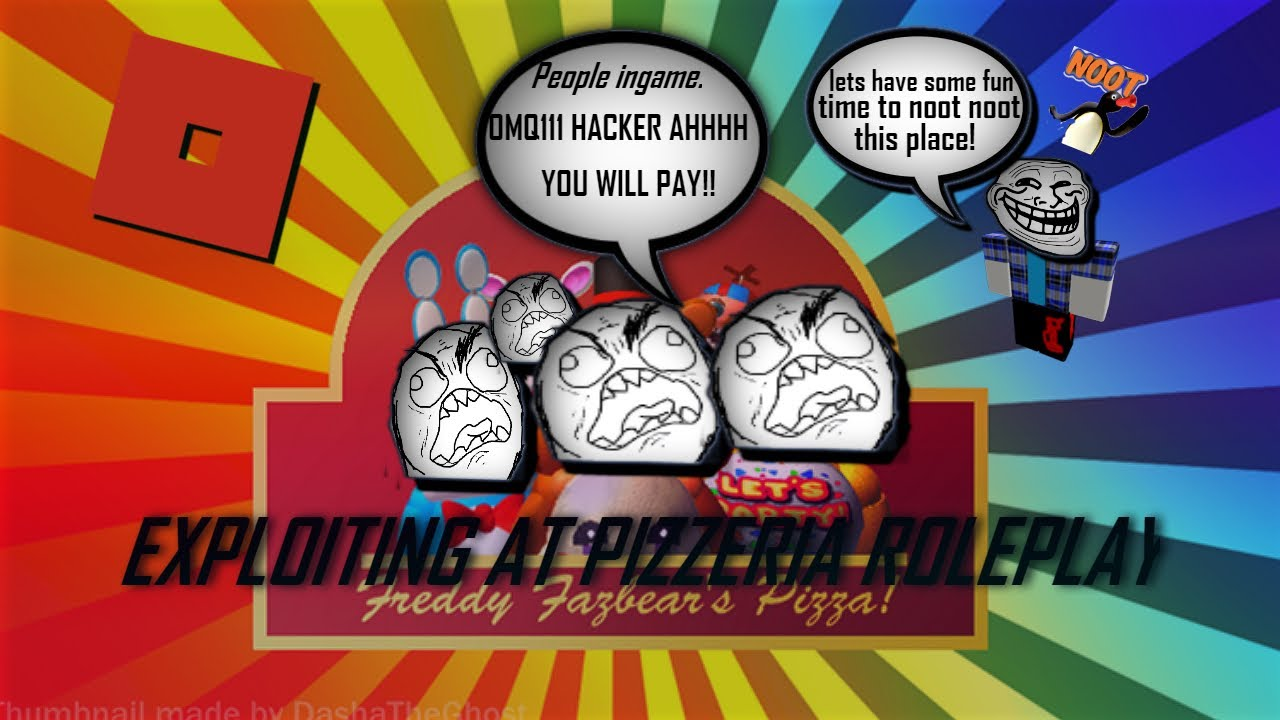 Roblox Exploiting Pizzeria Rp Fnaf - hacking roblox fnaf rp