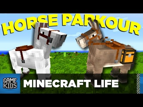 Horse Parkour - The Minecraft Life - Bro Gaming