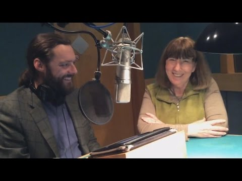 Author meets Narrator: Laura Kinsale visits Nicholas Boulton in the recording studio