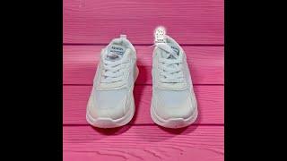 Обзор белых женских кроссовок на платформе FASHION