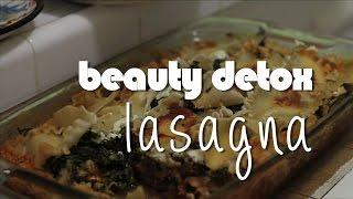 Kimberly's Beauty Detox Lasagna