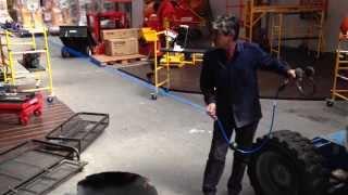 Carretel autoenrrollable para aire 20m Equus